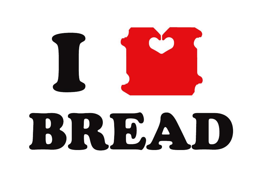 I love bread, I love NY, Milton Glaser