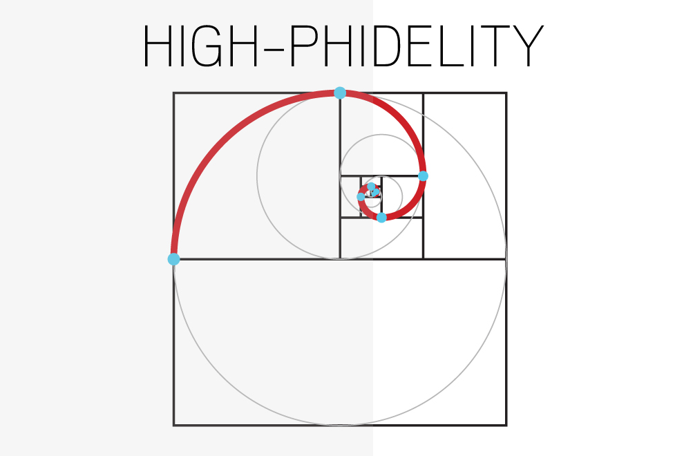 High Phidelity, Hi Phidelity, Phi, Golden Ratio, Golden Section